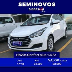 Hyundai Hb20s 1.6 At Comfort - 2018