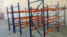 Estrutura porta pallets, fabricante Aguia