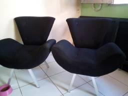 Conjunto de Cadeiras, estilo Canoa: Rr$130,00
