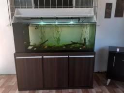 Vendo aquário novo com sump lateral
