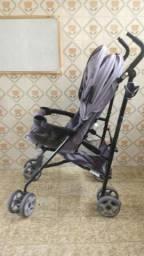 Carrinho de bebê Burigotto Cinza