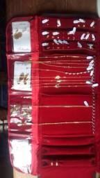 Semi jóias folheadas