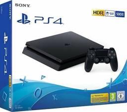 PlayStation 4 Slim 500GB, 1 ano de garantia, Promoção