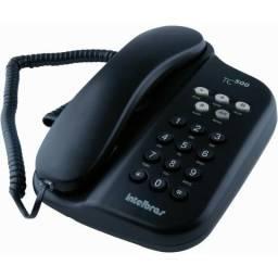 Telefone com Fio Intelbras TC 500 Cor Grafite Valor 30,00 Moro em Caruaru