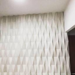 Decoração 3D, cimento, Gesso