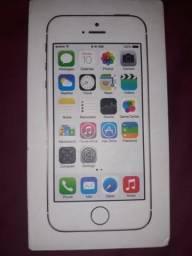 Caixa iPhone 5s dourado