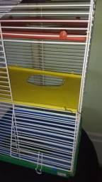 Gaiola de hamster 3 andares