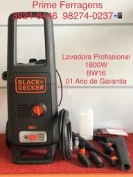 Lavadora Alta Pressao Black Decker 1600 W 7 lt / Min