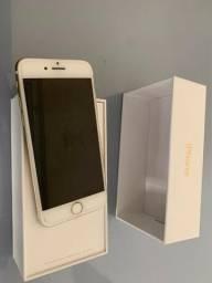Iphone 7 gold 256gb dourado, 256gb, completo impecável