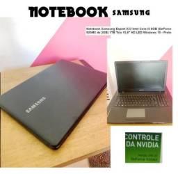 "Notebook samSung expert x23 Inter core I5 8GB (geforce 920MX de 2gb) 1tb tela 15,6"" hd led"