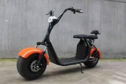 Scooter elétrico Goo chopper - 2 lugares - laranja