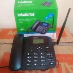 Telefone Rural Novo na Garantia. Intelbras