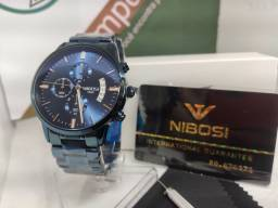 Relógio original Nibosi Azul