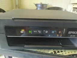 Impressora Epson multifuncional wifi com defeito