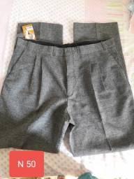 Calças masculinas tam 50