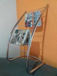 Vende-se Porta Revista inox