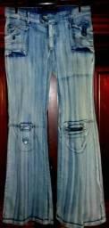 Calças Jeans 3- Tam 42- 44