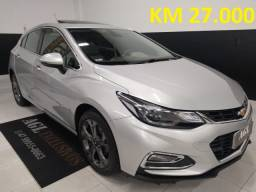GM/Cruze Sport LTZ 1.4 HB Flex Aut - Único Dono - Apenas 27.000 KM