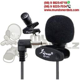 Mini Microfone de Lapela Knup KP-911 em São Luís Ma