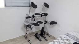 Bateria digital staff drum com módulo SD-1