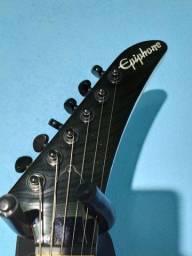 Guitarra Epiphone Explorer! Captadores HH777 ponte e braço.