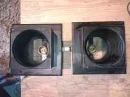 Luminária de embutir ( 25 peças )
