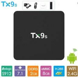 Promoção TV BOX TX9S  4k Octacore Amilogic S912 wi-fi