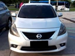 Nissan Versa Sl Completo 1.6 Flex Top Raridade Impecável Kit Gás 5' Ger. !!!