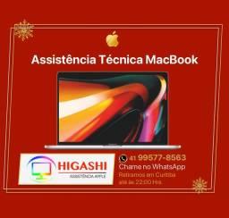 Assistência Técnica MacBook Apple - 25 Anos de Experiência Técnica