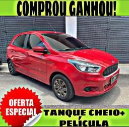TANQUE CHEIO SO NA EMPORIUM CAR!!! FORD KA SE 1.0 ANO 2018 COM MIL DE ENTRADA