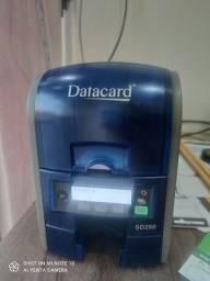 Impressora de crachá PVC