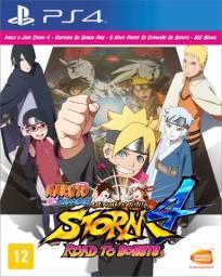 Novo naruto shippuden: ultimate ninja storm 4 road to boruto ps4