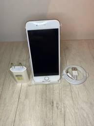 iPhone 7 128gb rose e silver (COM GARANTIA)