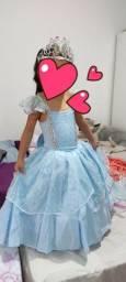 Vestido /fantasia princesa/fada