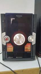 Título do anúncio: Micro sistem Panasonic
