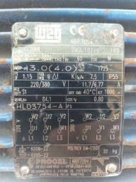 Título do anúncio: Motor trifásico 220/380 V