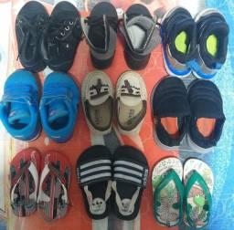 Título do anúncio: Lote de calçados número