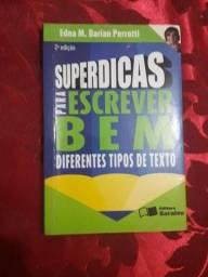 Título do anúncio: livro super dicas para escrever bem