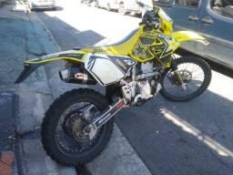 Título do anúncio: Moto Suzuki DRZ 400E 2006 Trilha Enduro Motocross