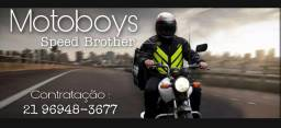 Vagas para motoboys e bikes em Copacabana