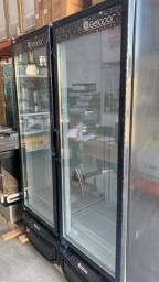 ]{|> Duas portas gelopar 950litros com 1 ano de garantia