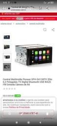 Título do anúncio: Pioneer 2 din tv digital sph-da138tv 6.2