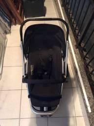 Carrinho de bebê quinny conjunto com 3