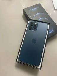 Título do anúncio: iPhone 12 Pro Max 128 GB azul