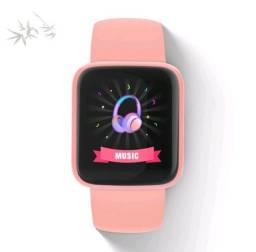 Título do anúncio: Smartwatch D20 Macaron