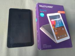 Título do anúncio: Tablet Multilaser M7 Plus NB304 16GB, Dual Chip 3G Quad Core