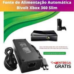 Título do anúncio: Fonte De Alimentação 100% Compatível Com Xbox 360 Slim 2 Pinos Bivolt - Com Entrega Grátis