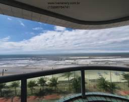 Título do anúncio: Apartamento de frente para o mar, 2 quartos, varanda gourmet - Mongaguá
