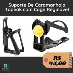 Suporte De Caramanhola Topeak com Cage Regulável