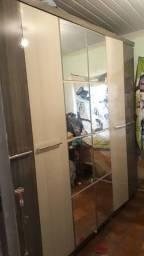 Guarda roupa 6 porta usado mais novo